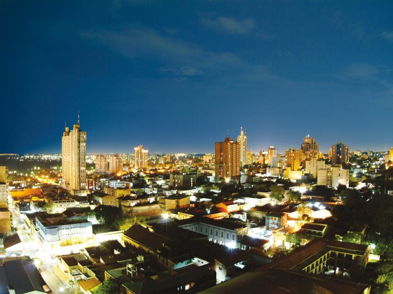Paquete a Asuncion del Paraguay